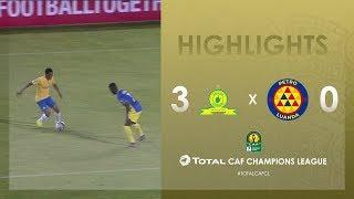 Mamelodi Sundowns 3-0 Atlético Petróleos   HIGHLIGHTS   Match Day 1   TotalCAFCL