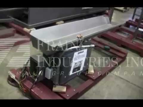 Heat & Control CV-FB-50E12 Vibratory Conveyor