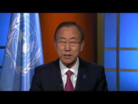 Address by UN Secretary General Ban Ki Moon