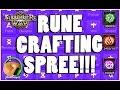 SUMMONERS WAR : Rune Crafting Spree!!!! (Violent/Swift/Will)