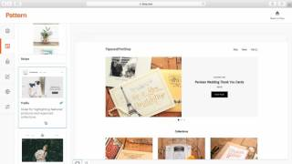 So Erstellen Sie eine Website mit Muster Von Etsy