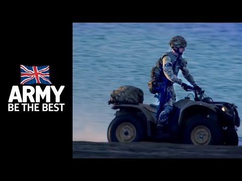 Quad Bikes - Behind The Scenes - Army Life - Army Jobs