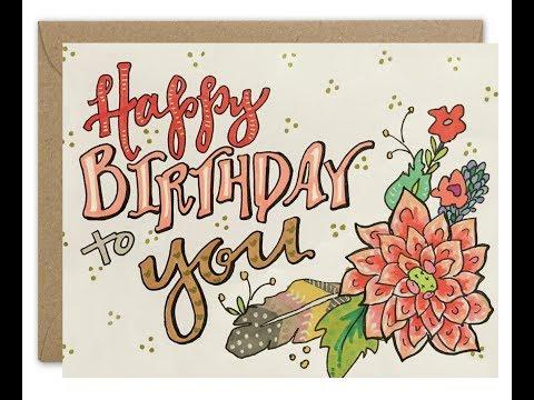 Happy Birthday Classical Free ECards Greeting