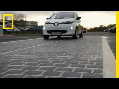 France Now Has The World S First Solar Panel Road