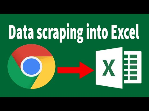 Data Scraping From Websites Into Excel | Web Scraping, Lead Generation, Data Collection