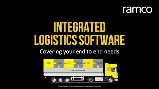 Get an overview of tms planning process ramco logistics software. to know more about software, visit http://www.ramco.com/logistics/.