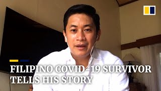 Video: Filipino Covid-19 survivor tells his story of coronavirus infection and recovery