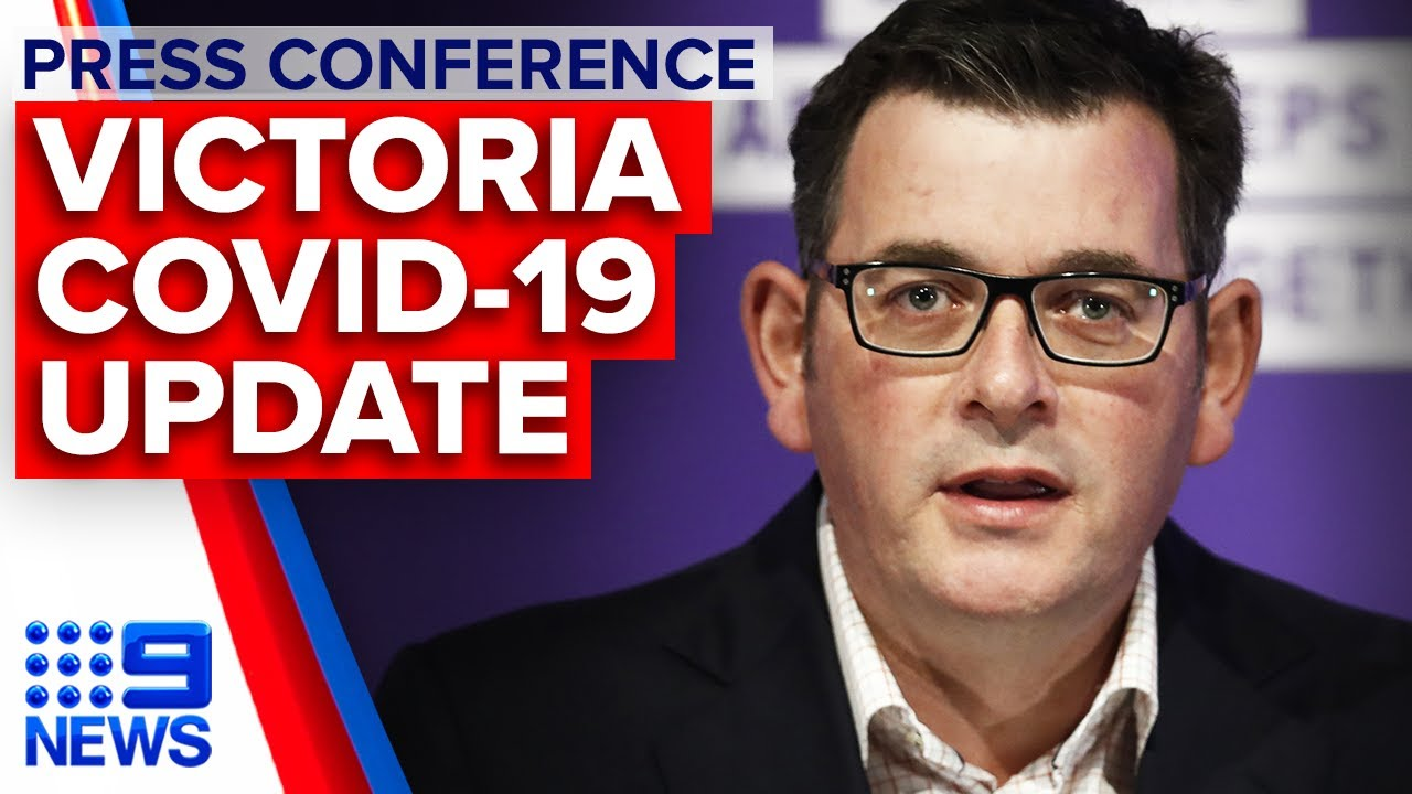Coronavirus Victoria Records 134 New Covid 19 Cases Overnight 9 News Australia Youtube
