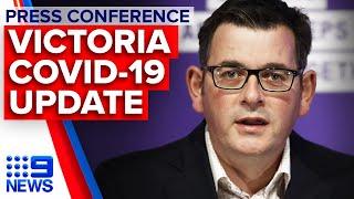Coronavirus: Victoria Records 134 New Covid-19 Cases Overnight | 9 News Australia