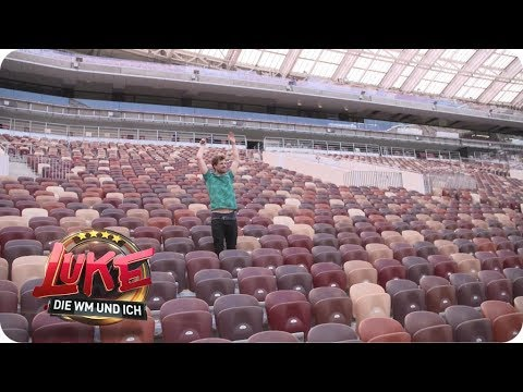 Platz reserviert - Luke im Luzniki-Stadion in Moskau - LUKE! Die Woche und ich