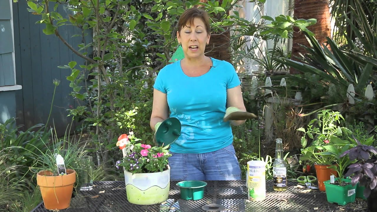 How To Keep Snails Slugs Out Of The Planters Garden Space Youtube