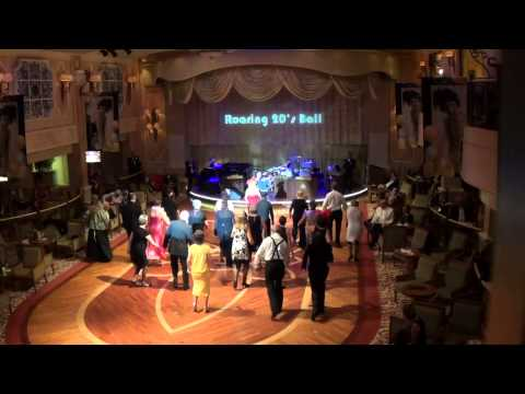 Roaring 20's Ball Night on Queen Victoria with Janet Labelle