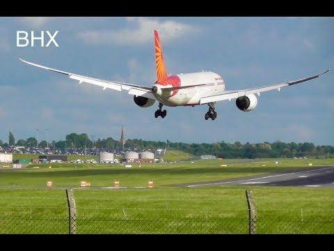 Plane Spotting at *Birmingham Int'l Airport BHX* Inc. Air India B788, Emirates A380...✈️🛬