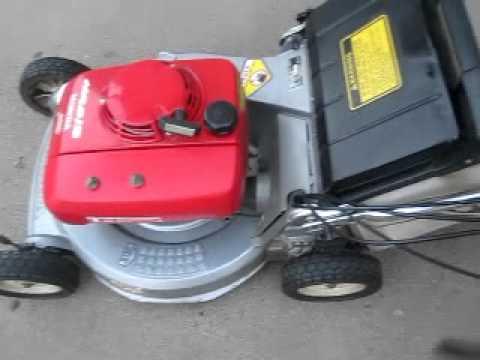 Honda Hr215 Lawn Mower Youtube