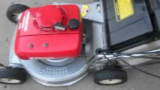 Honda hr215 lawn mower