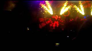 David Guetta Balaton Sound 2010 (robot dance)