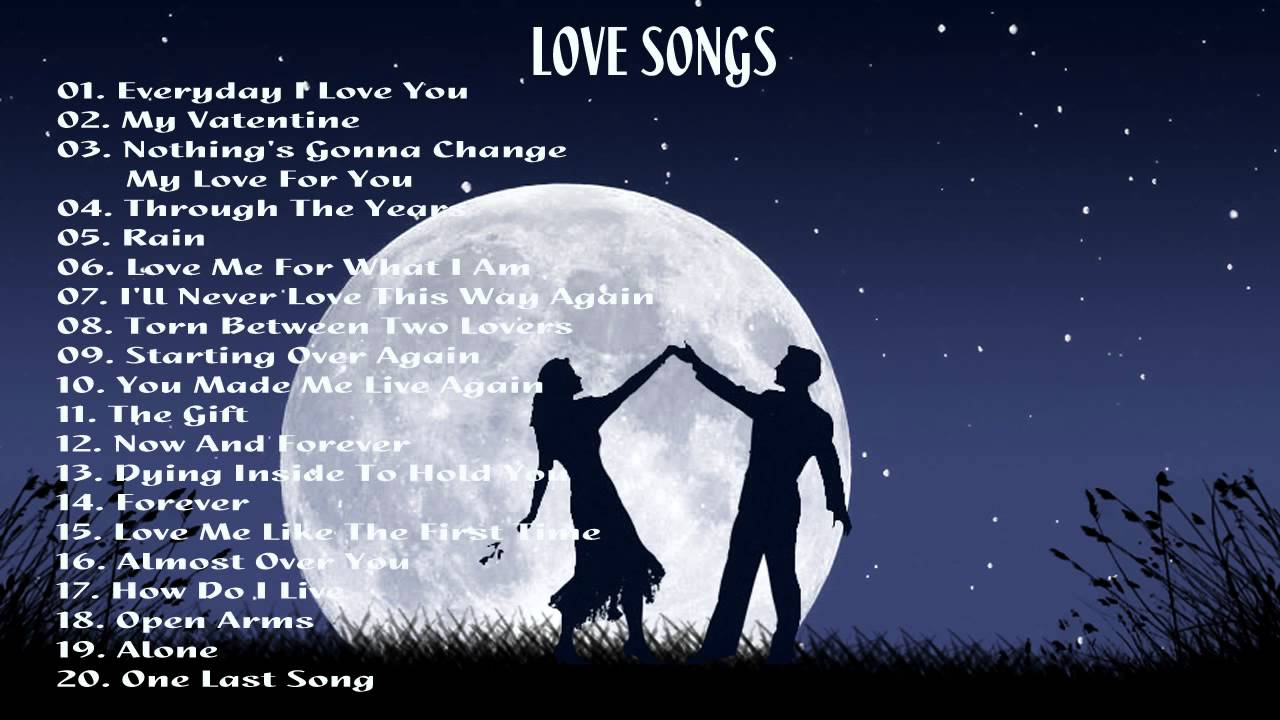 Top 20 Love Songs Of All Time