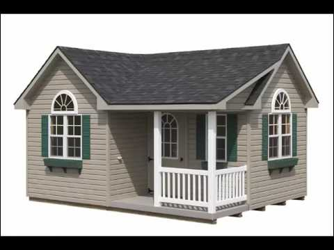 Free standing garages and amish built storage sheds in for Free standing garage