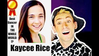 Dance Coach Reacts to KAYCEE RICE'S Dance Evolution