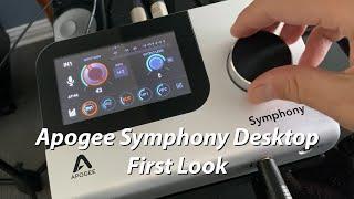 Apogee Symphony Desktop First Look