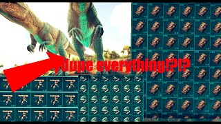 this new glitch allows you to dupe everything!!!(ark:official server)(full detailed explanation)