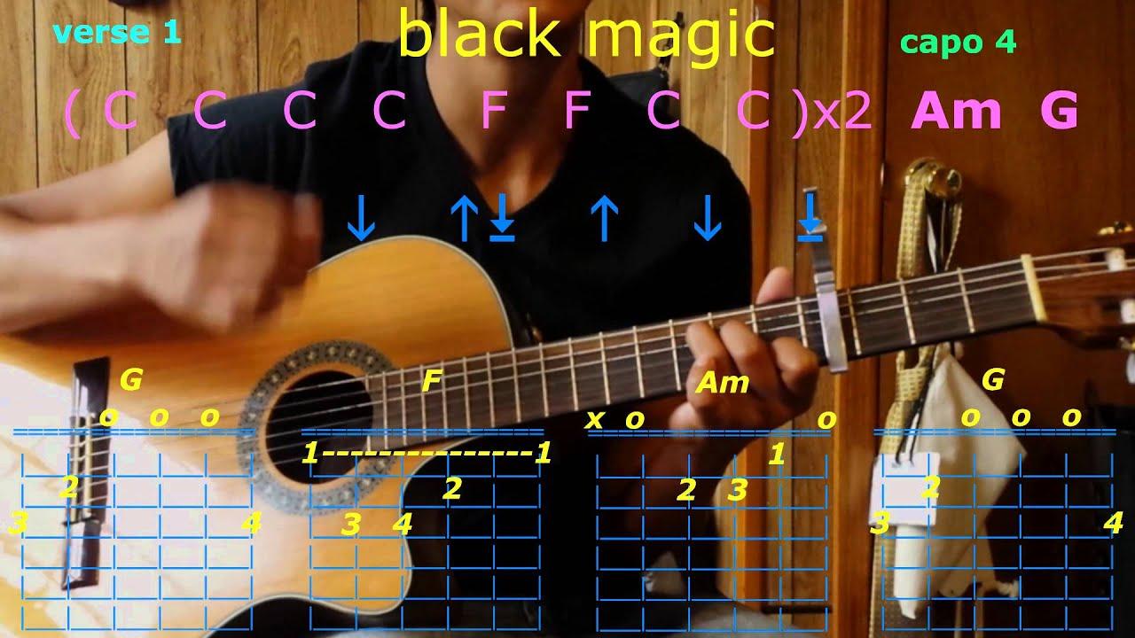 Black Magic Little Mix Guitar Chords Youtube