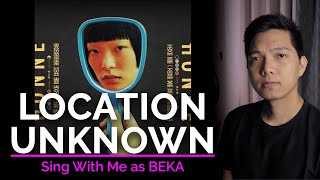 Location Unknown (Male Part Only - Karaoke) - HONNE ft. BEKA