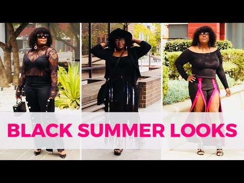 [VIDEO] - HOW TO STYLE BLACK DURING SUMMER TEN WAYS (LOOKBOOK) 7