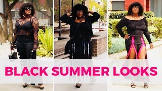 HOW TO STYLE BLACK DURING SUMMER TEN WAYS (LOOKBOOK)