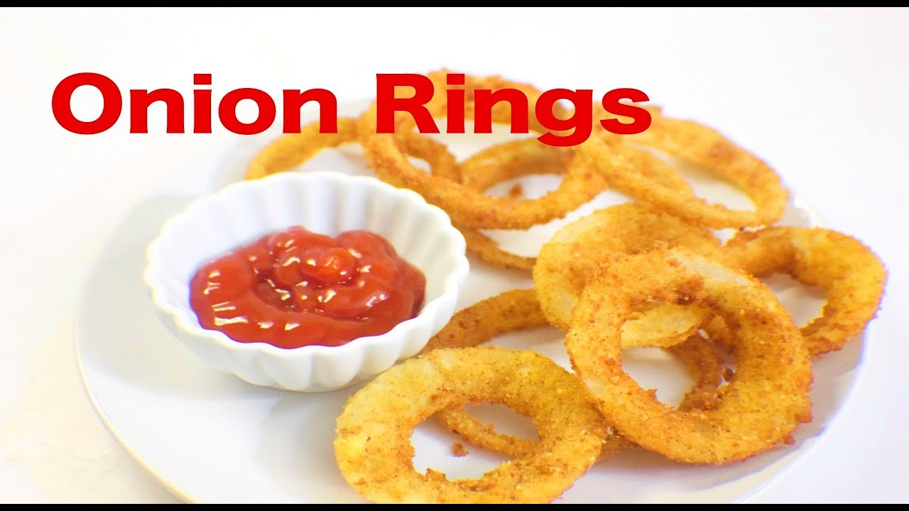 Crispy Onion Rings Recipe How To Make Crispy Onion Rings Homemade Onion Rings