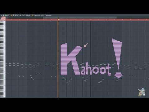 How Does Kahoot Sounds Like - MIDI Art