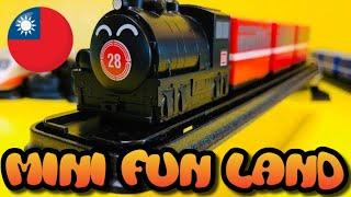 開封 台灣迴力小列車 阿里山28普通車  Taiwan Pull Back Toy Train unboxing (000355)