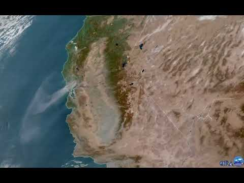 Smoke From California Wildfires Billows Across Marin County