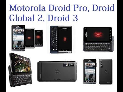 Liberar/desblokear Droid 3 , Droid 2, Droid Pro de verizon