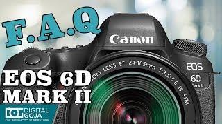 Top-15 Häufigsten Fragen | Canon EOS 6D Mark II DSLR-Kamera | TUTORIAL
