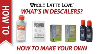 What's in Espresso Machine Descaling Products and How to Make Your Own Descaler