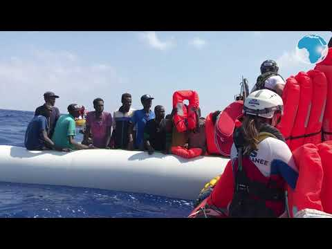 80 migrants rescued by charity ship off Libya