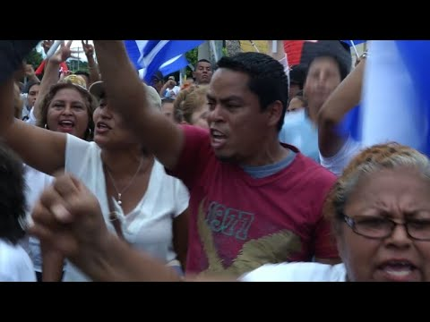 Protest as Nicaragua's Ortega starts talks with opposition
