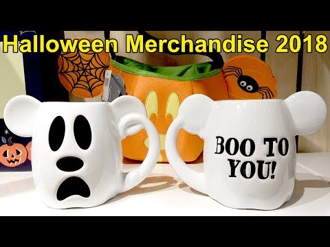 Halloween Merchandise First Look at Walt Disney World 2018 Plus Haunted Mansion Talking Doom Buggy