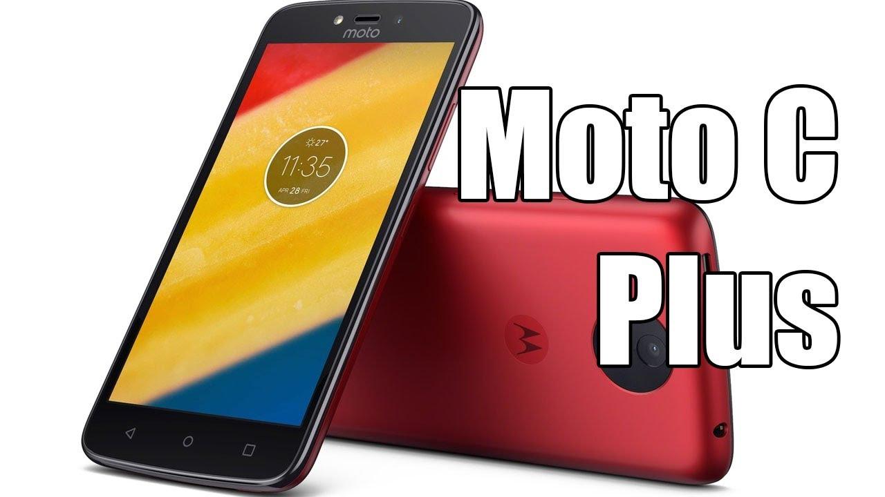 72dec707f Moto C Plus