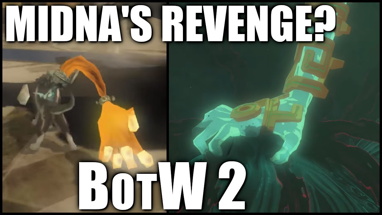 Which OTHER Zelda game does BotW's sequel resemble? Breath of the Wild  sequel Twilight Princess