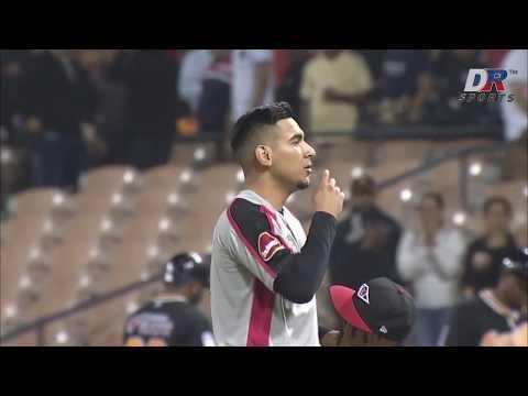 Homerun | Brian O'Grady (AC) vs Tigres del Licey | 22 NOV 2019 | Serie Regular Lidom from YouTube · Duration:  59 seconds