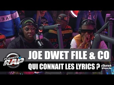 Youtube: Joé Dwèt Filé, Kalash Criminel, Vegedream & Co joue à qui connaît les lyrics #PlanèteRap