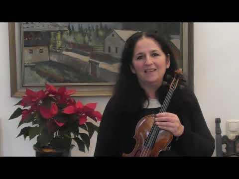 カリーン・アダム先生からのメッセージ [ヴァイオリン・クラス]Message from Prof. Karin Adam [Violin class]