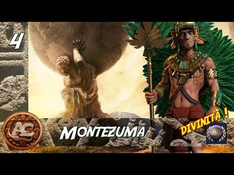Civilization 6 - Montezuma Divinità #4 (Gameplay ITA)