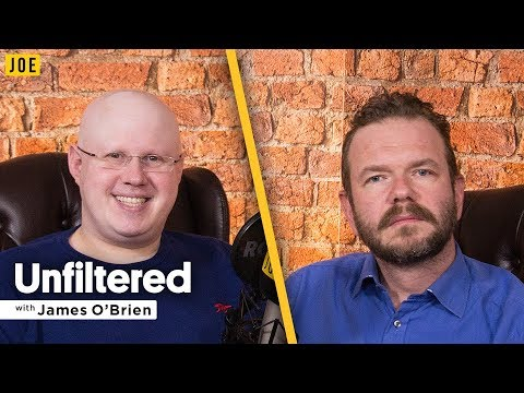 Matt Lucas talks to James O'Brien in episode ten of JOE.co.uk's video podcast Unfiltered