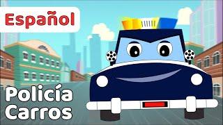 Carros de Policía Para niños en Español | Canciones Infantiles | FunForKidsTV