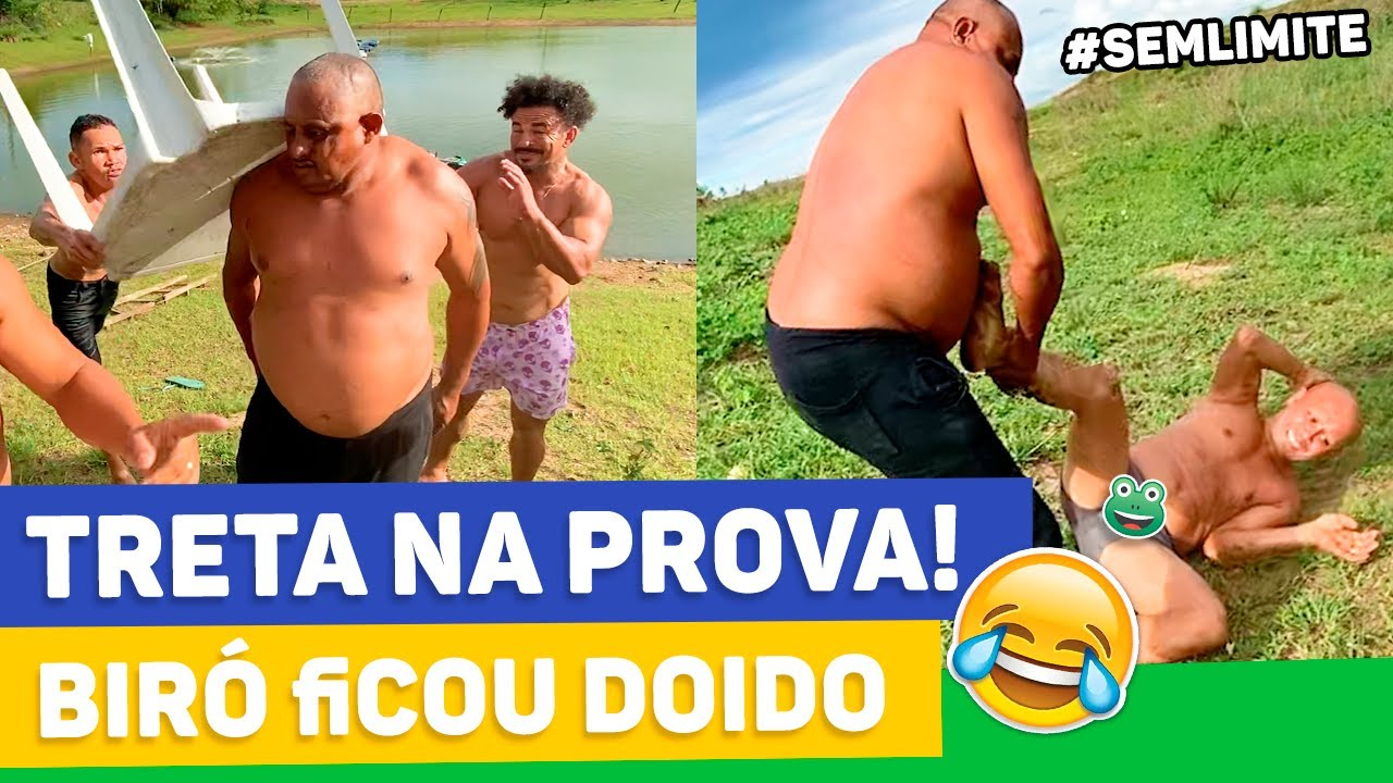 Download BIRÓ FICA DOIDO E VAI PRA CIMA DE TATU | SEM LIMITE DO MUÇÃO