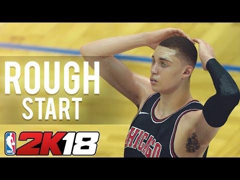 Rough Start - Chicago Bulls NBA 2K18 MyLeague | Ep 2