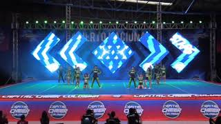 Torneo capital cheer Colombia 2019.